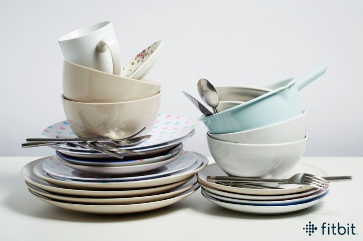 Tidying up can actually help you get fit!!  https://blog.fitbit.com/how-tidying-up-around-the-house-can-help-you-lose-weight/