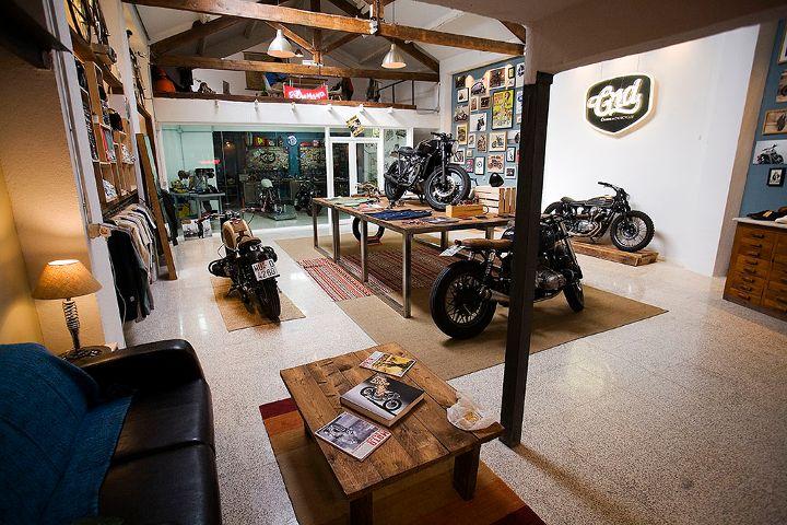 Cafe Racer Dreams, un taller para sueños sobre ruedas | Experiencias Mercedes