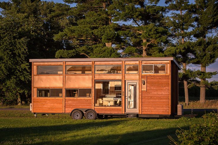 Traveler XL by Escape Traveler - $78K Base, 344 sf (255 sf ground floor, 89 sf loft). Takes about 90 days to build.