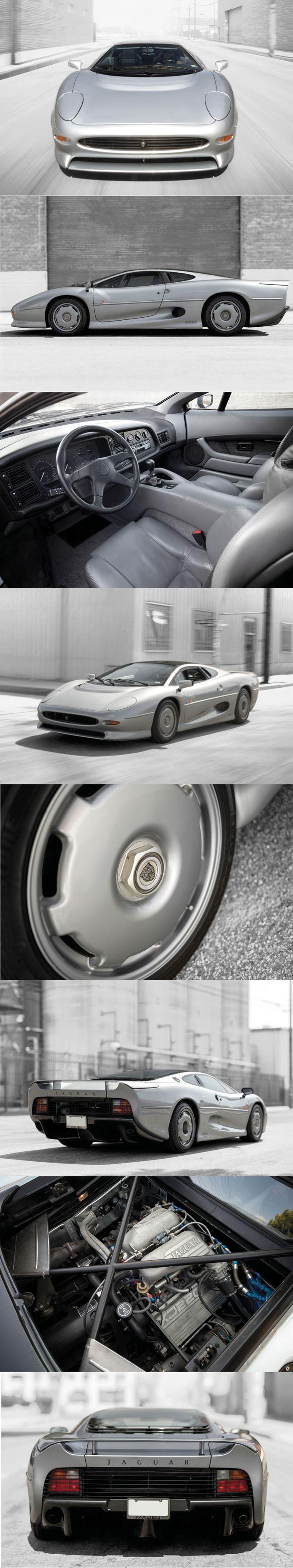 1993 Jaguar XJ220 / 542hp / 281 produced / $462.000 Sotheby's / UK / silver