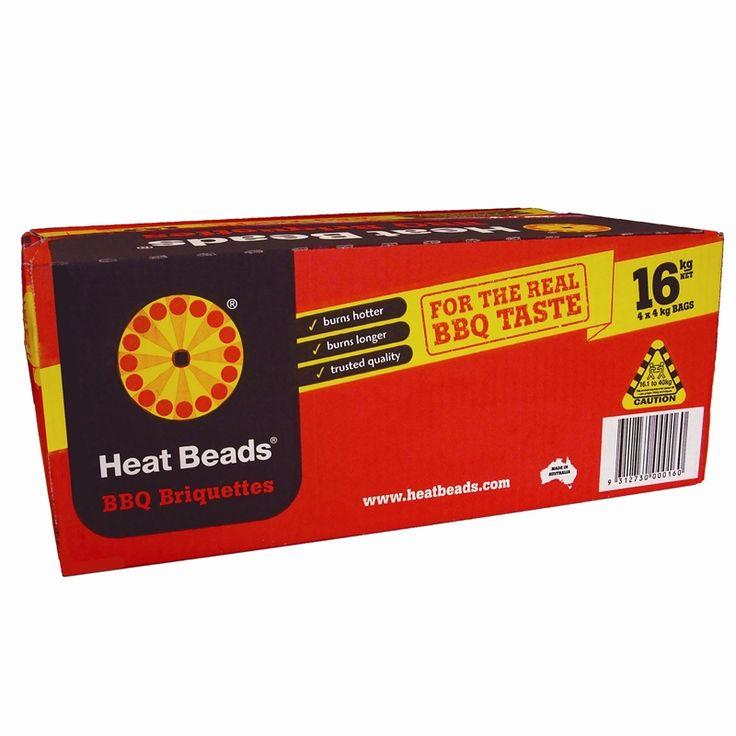 Heat Beads 16kg BBQ Briquettes