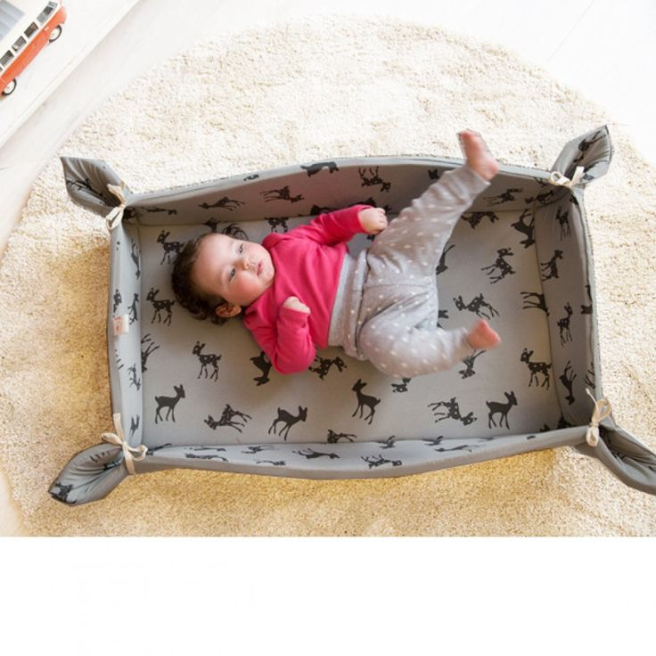 """Tappeto Gioco take away """"grigio"""" in 2020 Baby travel bed"""