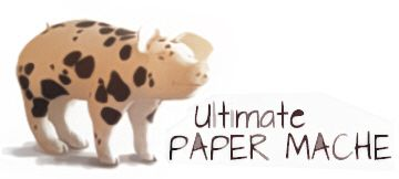 Paper Mache Clay recipe- toilet paper, white glue, joint compound, white flour, linseed oil.