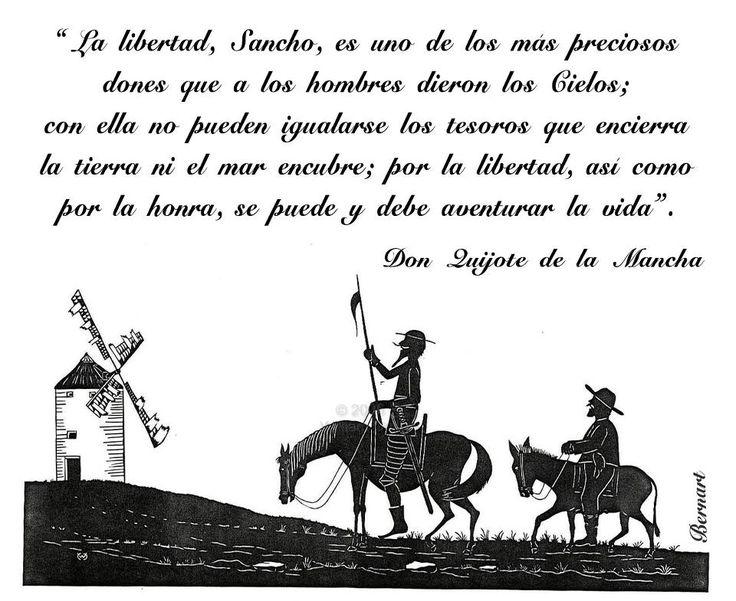 SP....Don Quijote de la Mancha, libertad