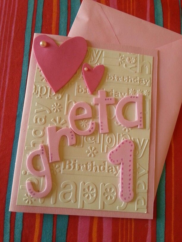 Birthday'S card!