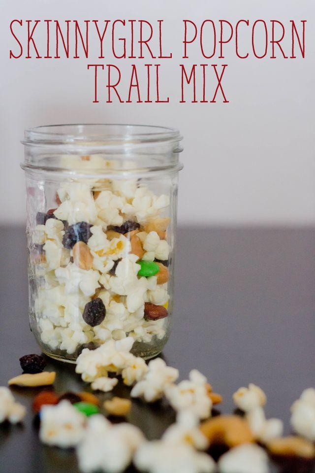 Our Holly Days: SkinnyGirl Popcorn Trail Mix Recipe, Easy Snacking @OrvillePopcorn #SkinnyGirlSnacks #shop #cbias