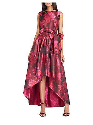 5e35d2fa767b Tahari Arthur S. Levine Floral High-Low Dress   flower girls dresses ...