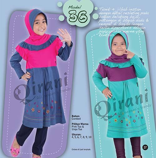 qirani kids model 36 hubungi 085732697004