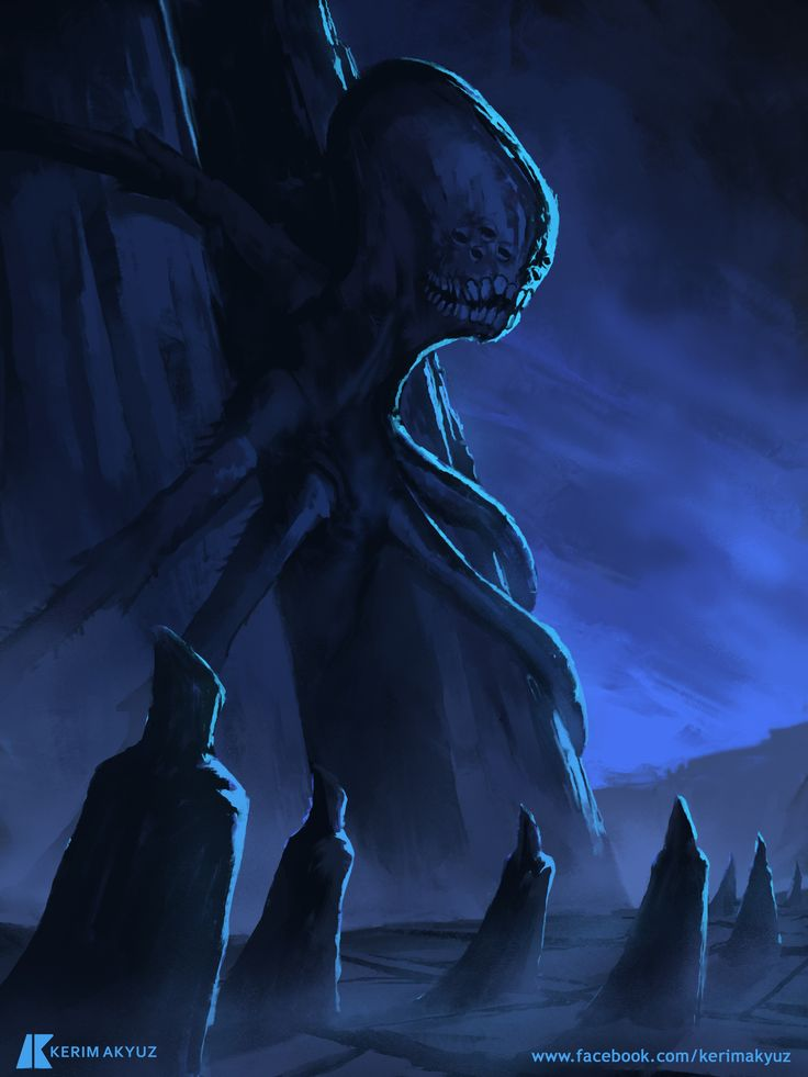 Daily Imagination #259 - Lovecraftian