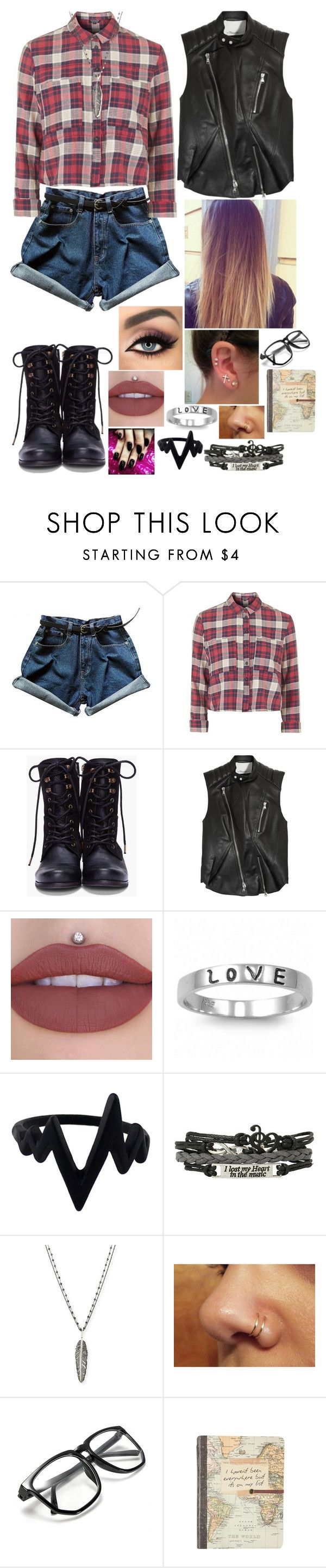 """""""Untitled #2918 - Fight Song by Rachel Platten Song Inspired Outfit"""" by nicolerunnels ❤ liked on Polyvore featuring Topshop, Diesel, 3.1 Phillip Lim, tarte, Fantasy Jewelry Box and Michael Aram"""