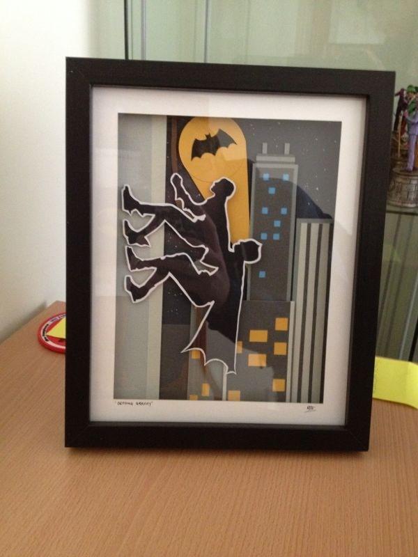 My 1966 Batman and Robin 3D Art.