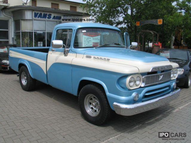 1960 dodge d100 ram built in 1960 off road vehicle pickup truck used blue favorite. Black Bedroom Furniture Sets. Home Design Ideas