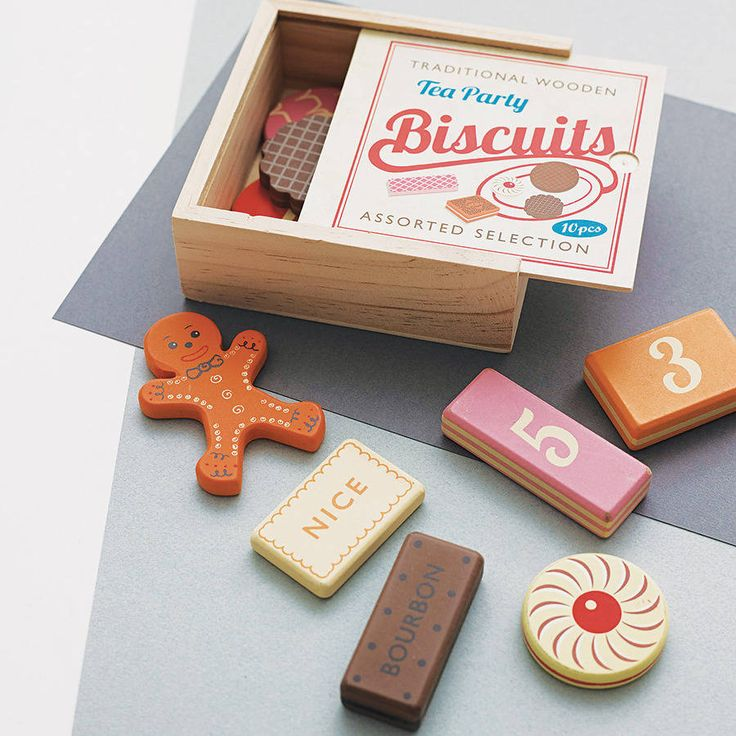 Wooden Biscuit Counting Game