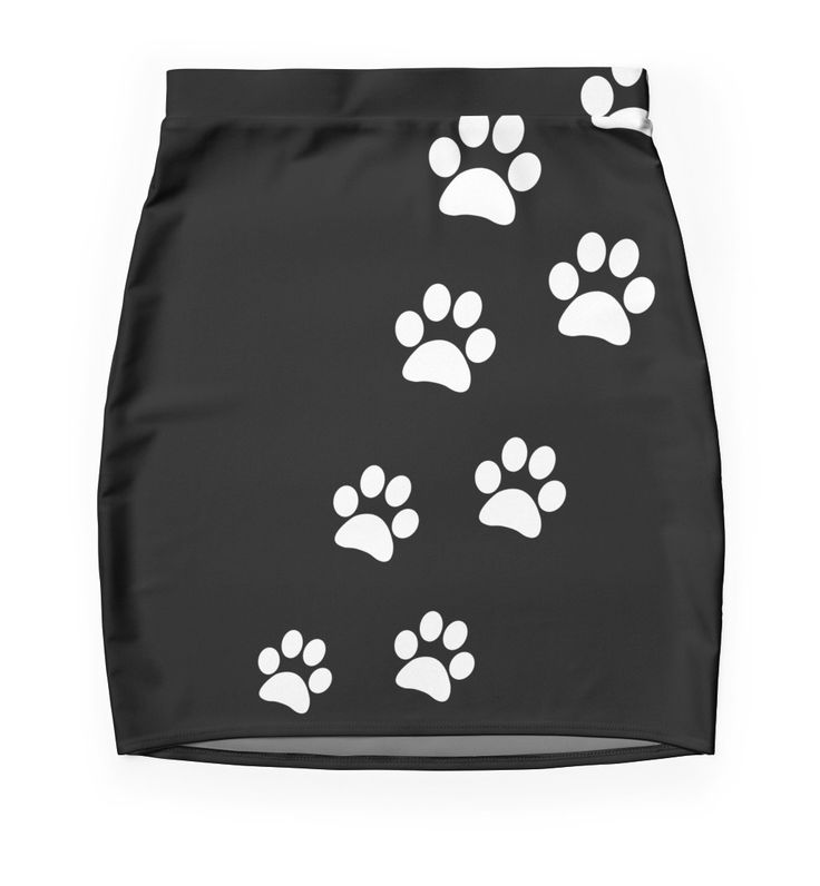 """""""Cat Paws"""" Pencil Skirts by ngdesign81 