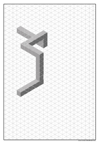 17 best Isometric images on Pinterest Watches, Architecture and Draw - isometric dot paper