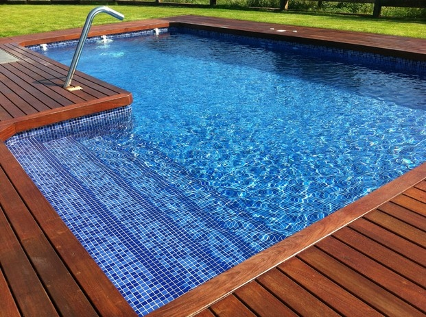 383 best images about piscinas on pinterest gardens for Escalones piscina