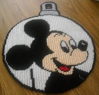 Mickey Mouse Plastic Canvas Patterns | Mickey Mouse Ornament