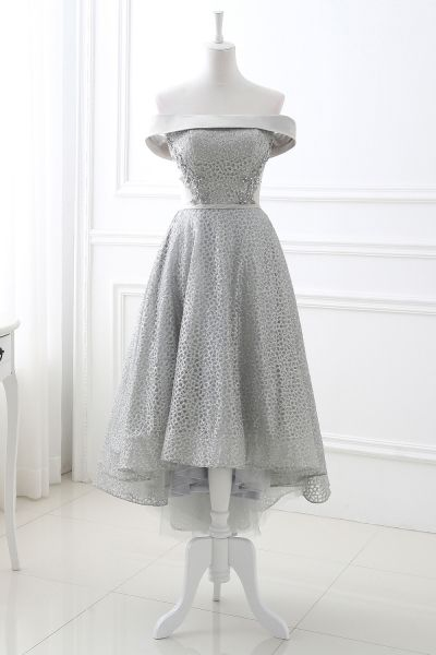 A-Line Tulle Tea-Length Formal Dresses for Homecoming Sale, Order Today! - Freezbuy.com