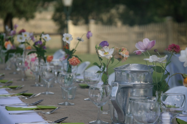 Christening lunch party in our garden favorite places for Christening garden party ideas