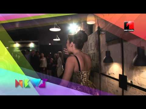 Making of Andra - Atata timp cat ma iubesti @ Music Channel News