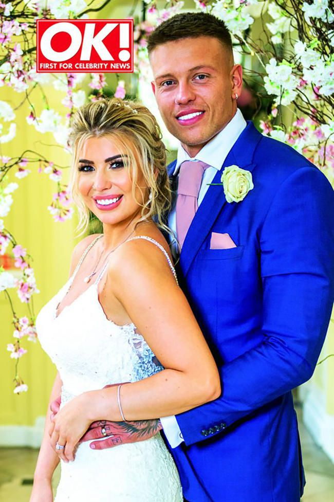 Olivia Buckland And Alex Bowen Asked Wedding Guests To Donate To