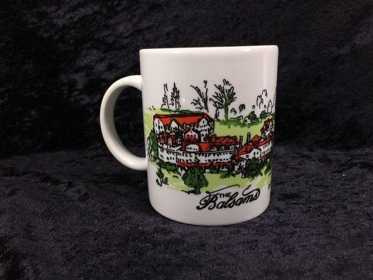 Souvenir Mug The Balsm Dixville Notch NH 10oz #glassbake