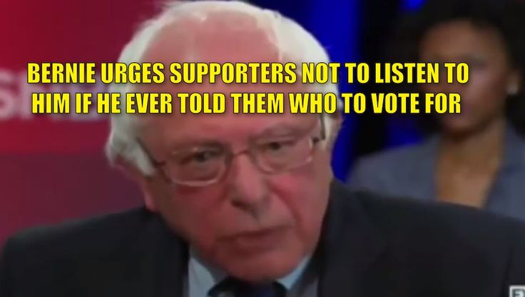 """Like a desperate hostage, Bernie sent out """"secret signals"""" to his supporters even before the Clintons dug their claws into him. Prior to endorsing Hillary, Bernie told his supporters never listen to him if he told them who to vote for. Well, Bernie, seems like many of your #BasementDwellers are listening to you. Watch the video: #BasementDwellers Reminder that Bernie Sanders told his supporters to not listen to him if he ever told them who to vote for! pic.twitter.com/64VbdsZA3i — ALWAYS…"""