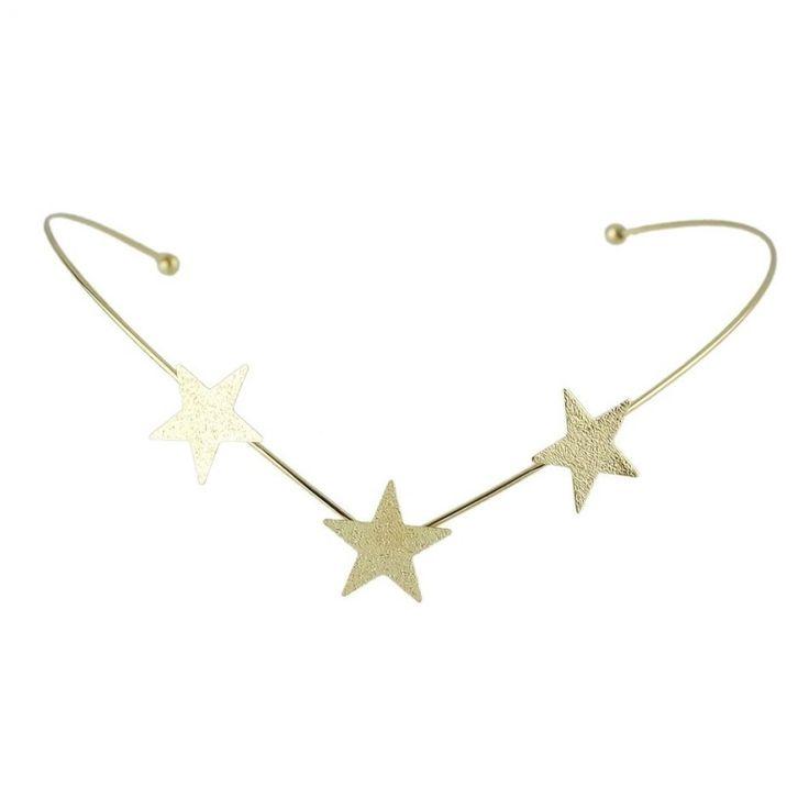 Haarband Ster goud