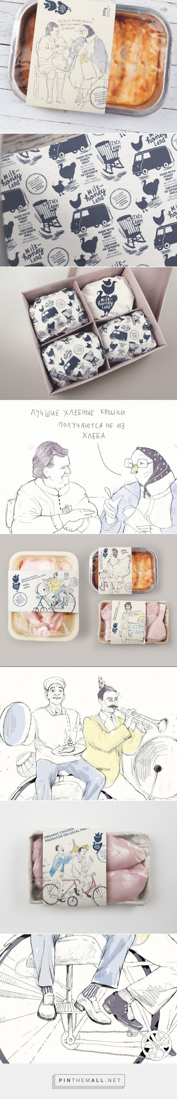 Milk & Honey Land on Packaging of the World - Creative Package Design Gallery - created via http://pinthemall.net