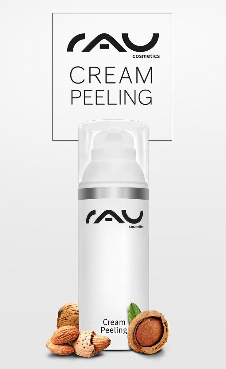 Entdecke jetzt unser Cream Peeling, das eine Tiefenreinigung mit natürlichen Schleifpartikeln durchführt. Zusätzlich wird die Haut mit wertvollen Inhaltsstoffen gepflegt! http://www.rau-cosmetics.de/detail/index/sArticle/112 #hautpflege #gesichtsreinigung #peeling #gesichtspflege