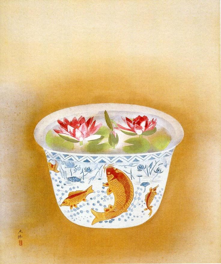奥村 土牛 Okumura Togyu(1889 - 1990)