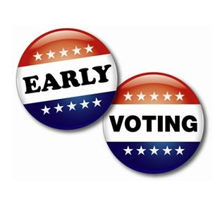 """North Carolina Early Voting:  Oct 23 - Nov. 1 """"One-Stop Voting"""" you can register and vote at the same time!!"""