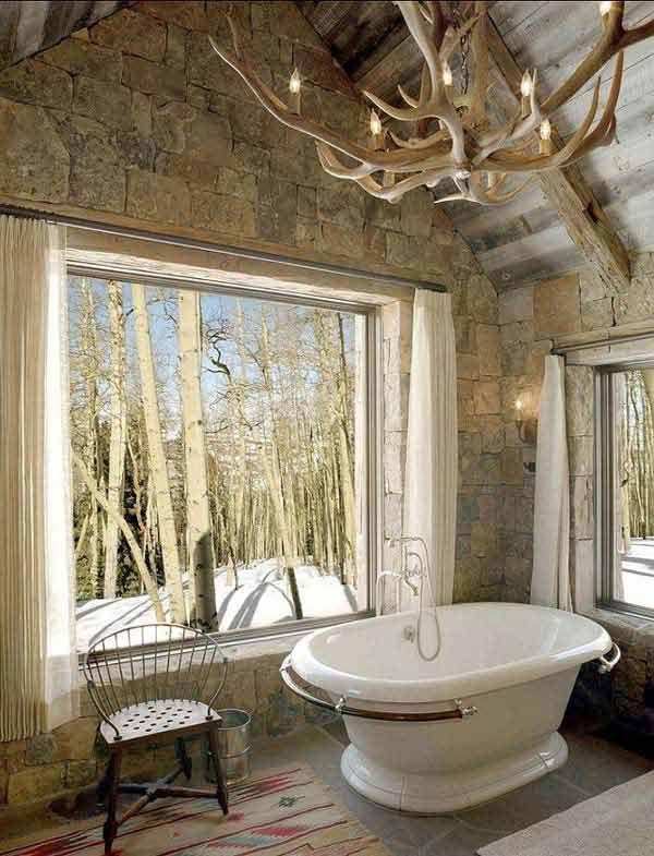 Łazienki W Stylu Rustykalnym Tworzą Ciepłą, Przytulną Atmosferę. Sprawiają,  że Domownicy Czują Się
