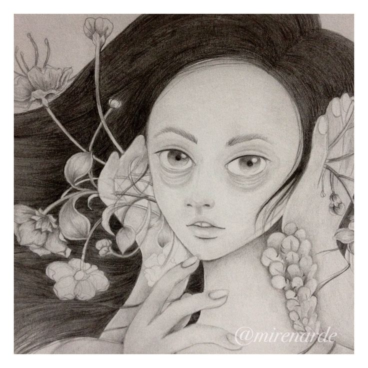 """Bising"" by Chandra Kartika Gunawan, visit her instagram to see her artworks"