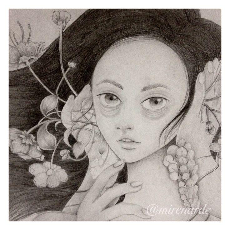 """Bising"" by Chandra Kartika Gunawan, visit her instagram to see her artworks"