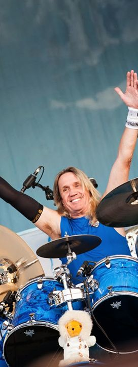 Nicko McBrain...I met Nicko in 2005, and I will never forget that! Love him!!!
