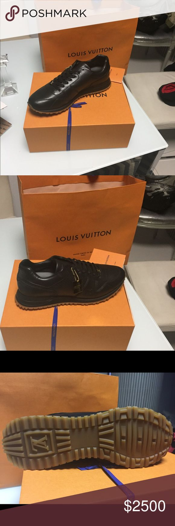 Louis Vuitton Supreme runaway sneaker black Size 11 never been worn - original tags/bags/box Louis Vuitton size 44 UK Louis Vuitton Shoes Sneakers