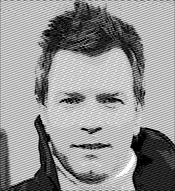 My Daily Drawings Sublimated Arts: Ewan Mcgregor in beautiful musics Portrait
