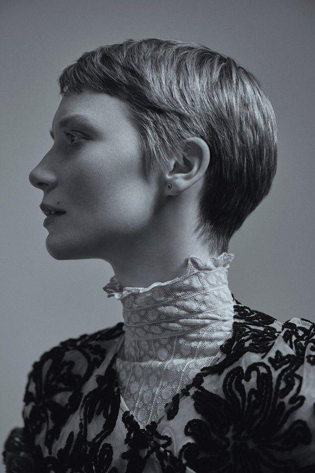Mia Wasikowska for Flaunt Magazine by Carlos Serrao