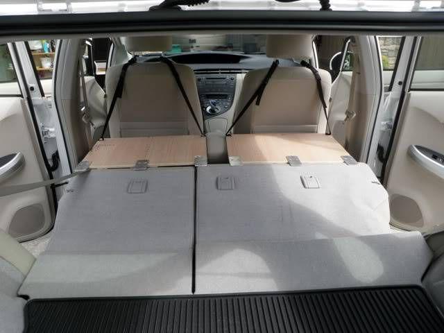 Make A Prius Rear Sleeping Bed Platform For Two Step By Step Walk Thru Sleeping In Bed Prius Camping Prius