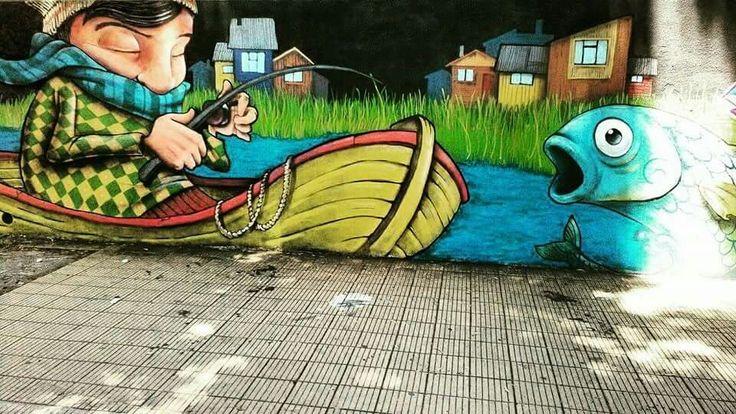 Calle concepcion, Chile