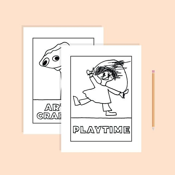 Baldis Basics Coloring Pages Printable Pdf Digital Download