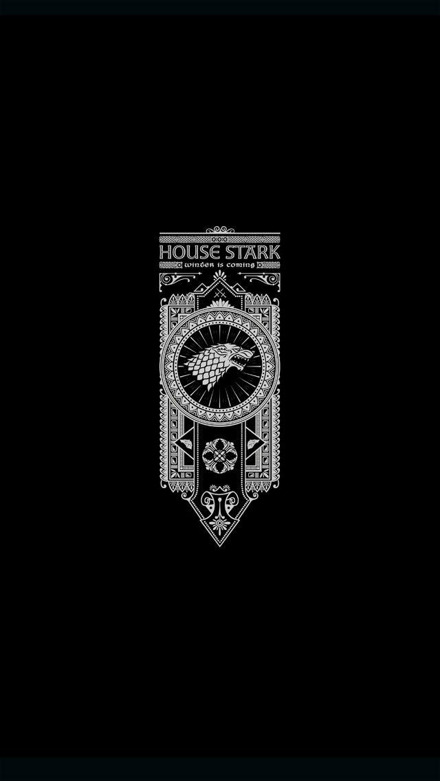 House Stark #iPhoneWallpaper