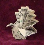 dozens of dollar-bill origami patterns