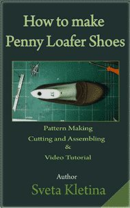 Each of my shoemaking books is accompanied with step by step video tutorials, descriptions and drawings. All guides are digital and will be downloaded after the purchase.