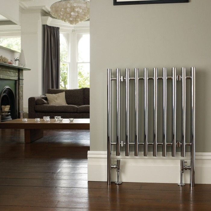 This tiny designer radiator is sweet and stylish. Great for city apartments.