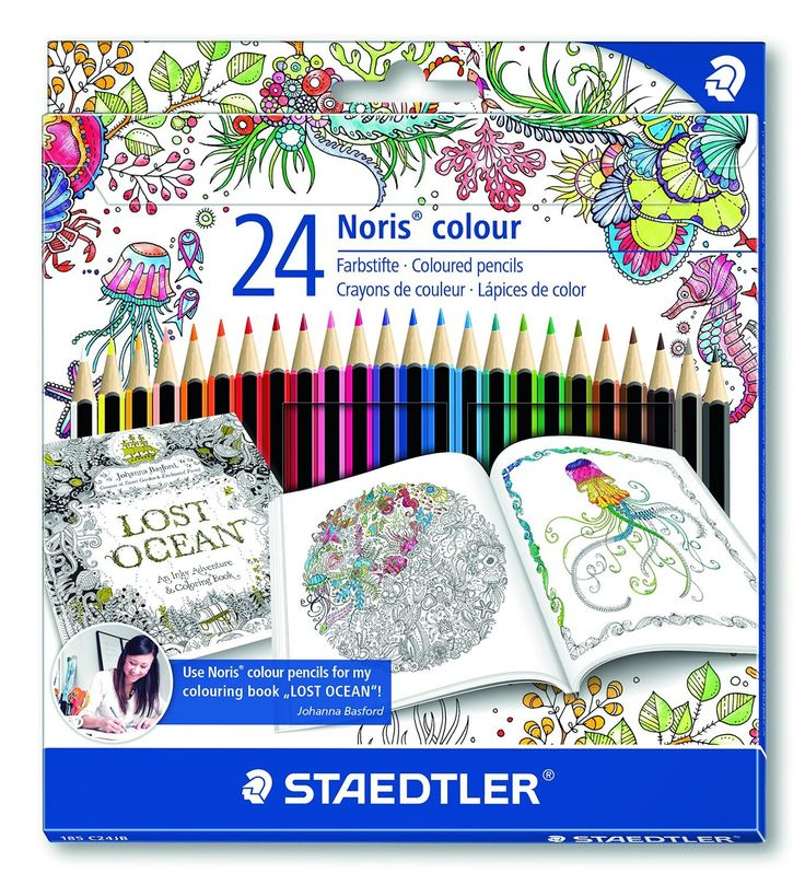 These high quality colored pencils are wonderful for sketching, drawing and coloring of course! Renowned illustrator Johanna Basford uses them to color her own bestseller, Lost Ocean. These pencils ar