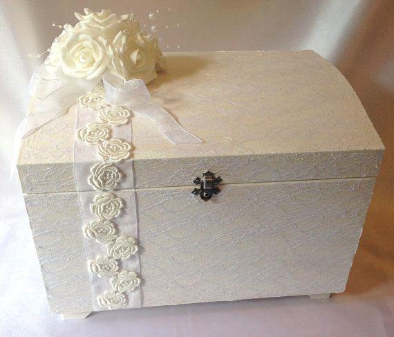 Beautiful wedding keep sake box