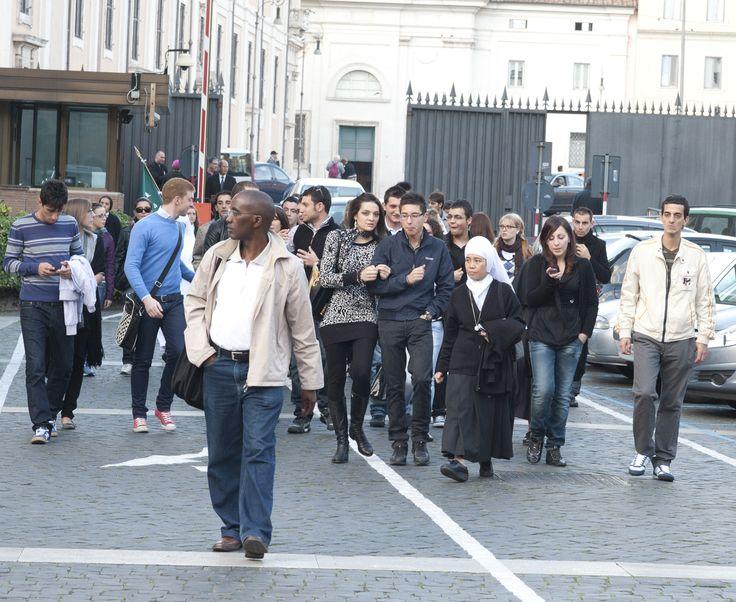 All'entrata di Piazza San Giovanni in Laterano, 4