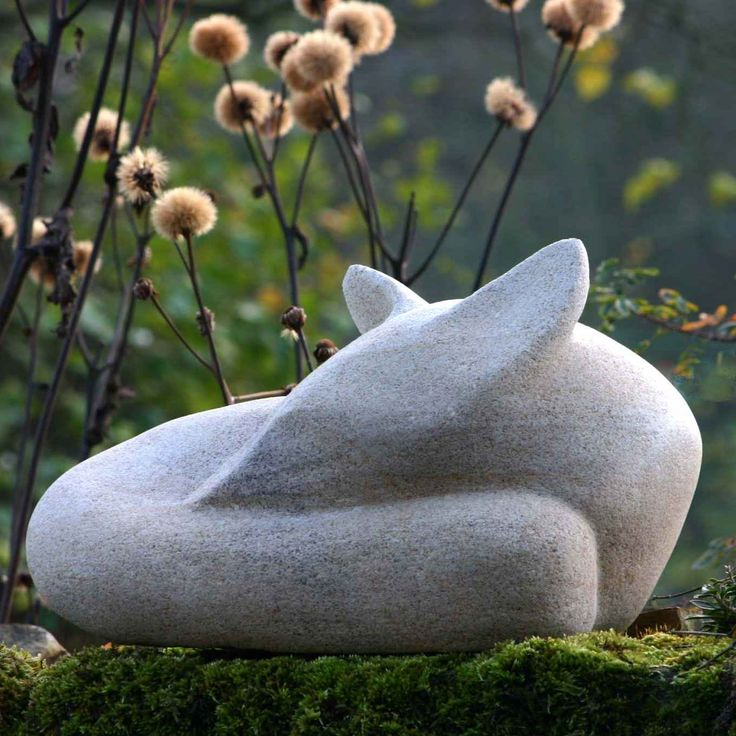 115 best images about animals figurines on pinterest for Fish garden statue